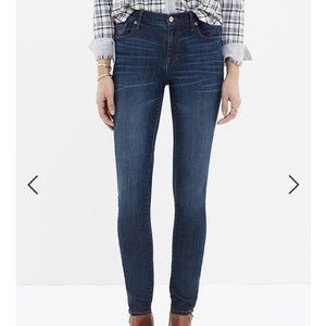 "💙 Madewell 9"" High Riser Skinny Skinny Jeans 27"